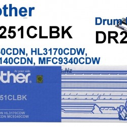 Brother DR251CLBK Black Drum Unit