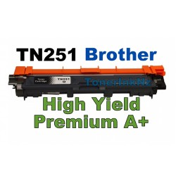 Brother TN251BK Black High Yield Toner Cartridge