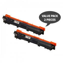 Brother TN251 Black High Yield Toner Cartridge Twin Pack Tonerink brand