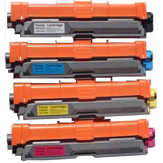Brother TN251 TN255 Toner Cartridge B+C+M+Y