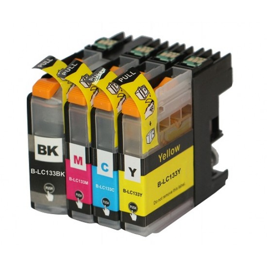 Brother LC133 ink cartridge BK+C+M+Y FullSet