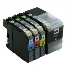 Brother LC139XLBK/ LC135XL ink Cartridges BK+C+M+Y