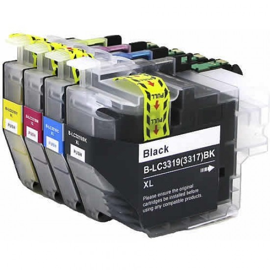 Brother LC3319XL ink cartridge BK+C+M+Y