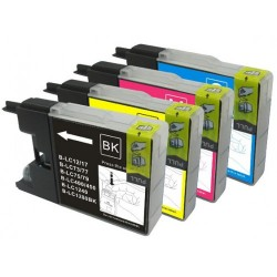 Brother LC73 / LC40 2BK+C+M+Y Ink Cartridge