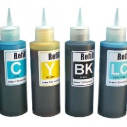 Cotton Print Ink 100ml BK/C/M/Y/LC/LM Sublimation (Not Normal Sublimation)