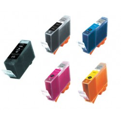 Canon BCI3 BCI3E Inks Cartridge Com BK/Colour