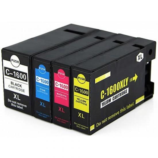 Canon PGi1600XL Ink Cartridge BK+C+M+Y