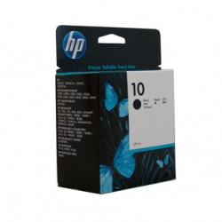 HP 10 Black Ink Cartridge - 74ml - 1,430 pages