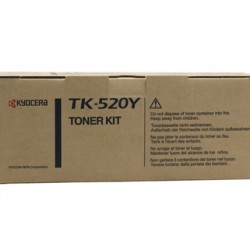 Kyocera FS-C5015N Yellow Toner Cartridge - 4,000 pages