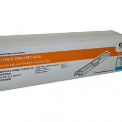 Oki C110/130N Cyan Toner Cartridge - 2,500 pages