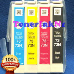 Epson 73N Ink Cartridge Compatible BK+C+M+Y
