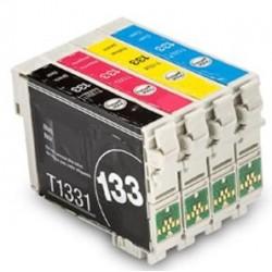 EPSON  NX130 133 T1331 XL Ink Cartridges Comp.