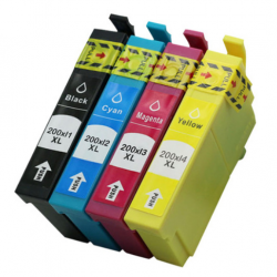 Epson 200 Ink 200XL WholeSet Compatible