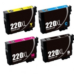 Epson  WF2760 Ink Cartridge 220 XL 220XL Ink Cartridge Compatible