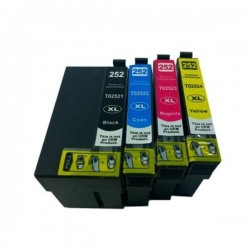 EPSON 252XL 252 Ink cartridge BK+C+M+Y