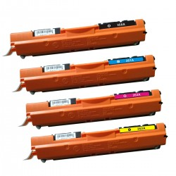 HP 126A Toner Cartridge Full Set