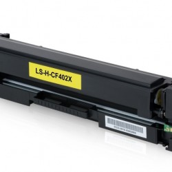 201X Compatible Yield Yellow Toner (CF402X) for HP
