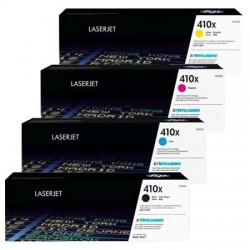Compatible HP 410X CF410X+CF411X+CF412X+CF413X High Yield Full Set Toner Cartridge