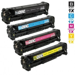 410X Compatible HP High Yield Toner CF410X+CF411X+CF412X+CF413X