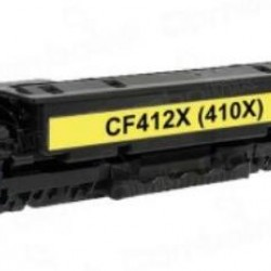 410X Compatible HP High Yield Yellow Toner (CF412X)