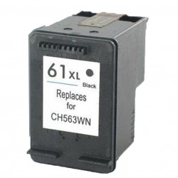 HP 61XL Black Ink Cartridge remanufactured
