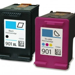 HP 901XL HP 901 Ink Cartridges BK or COLOR