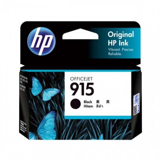Genuine HP 915 Black Ink Cartridge - 3YM18AA