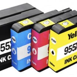 HP 955XL Ink Cartridge BK+C+M+Y Tonerink Brand