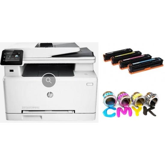 HP Colour LaserJet Pro MFP M281FDW All-in-One Printer